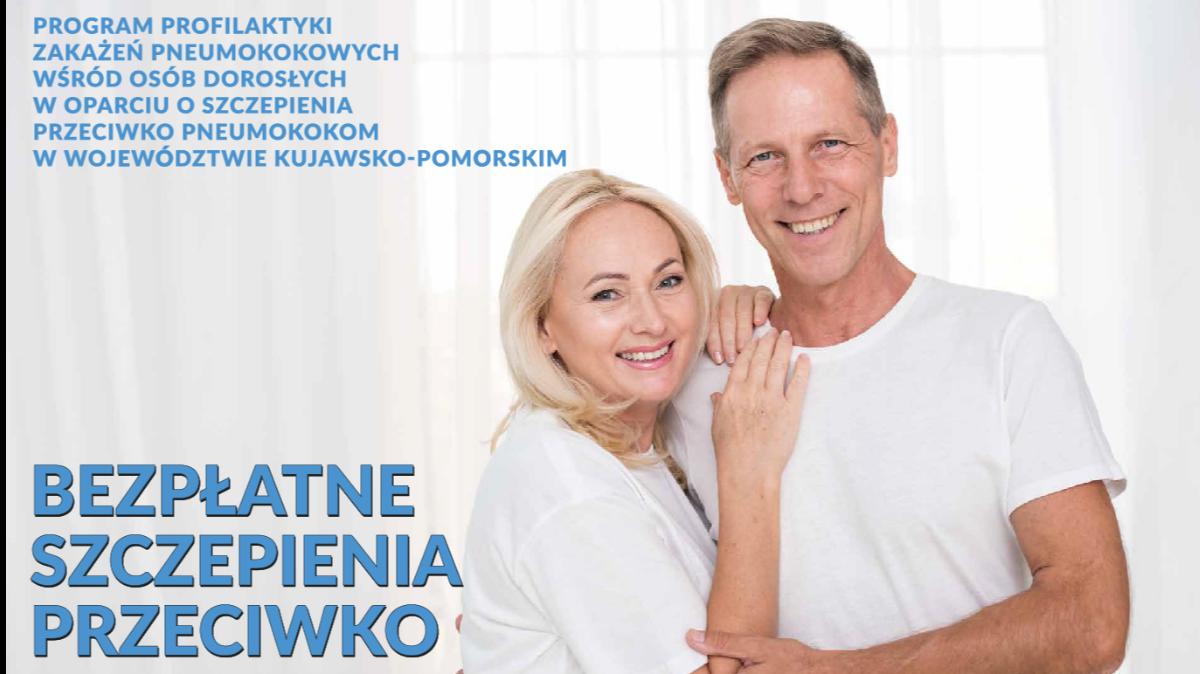 Plakat programu bezpłatnych szczepień