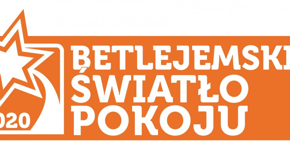 na zdjęciu logo Betlejemskiego Światła Pokoju