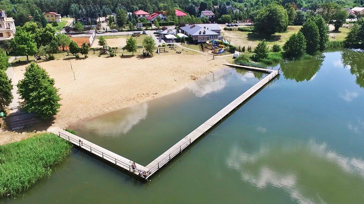 na zdjęciu: jezioro Niskie Brodno