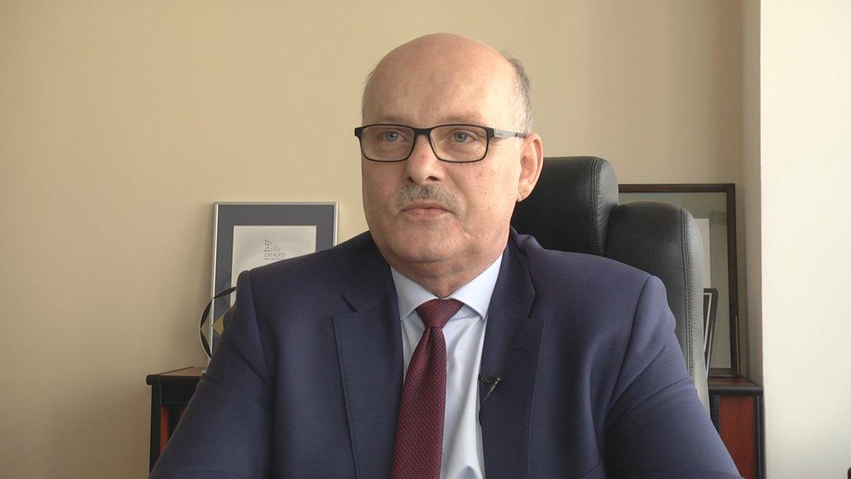 Na zdjęciu Burmistrz Brodnicy Jarosław Radacz