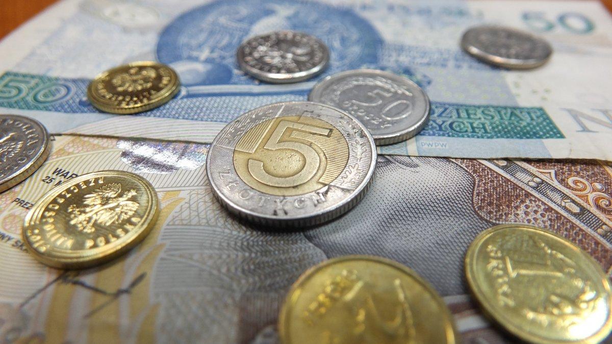 na zdjęciu: pieniądze