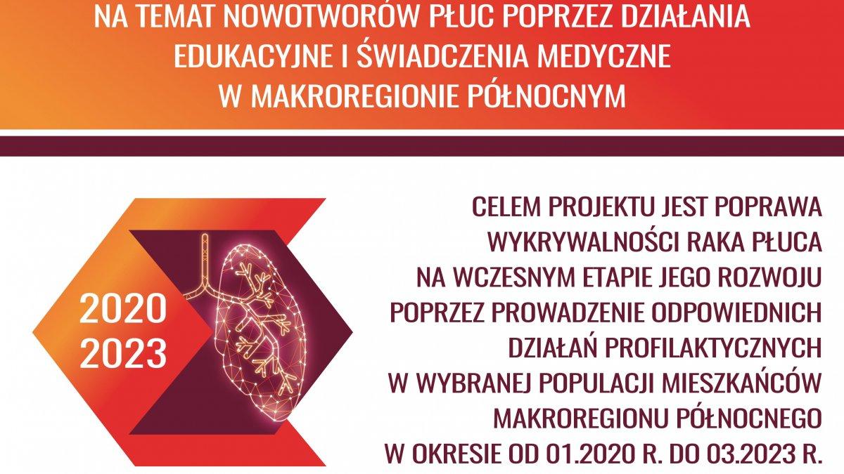 Na zdjęciu plakat promujący badania.