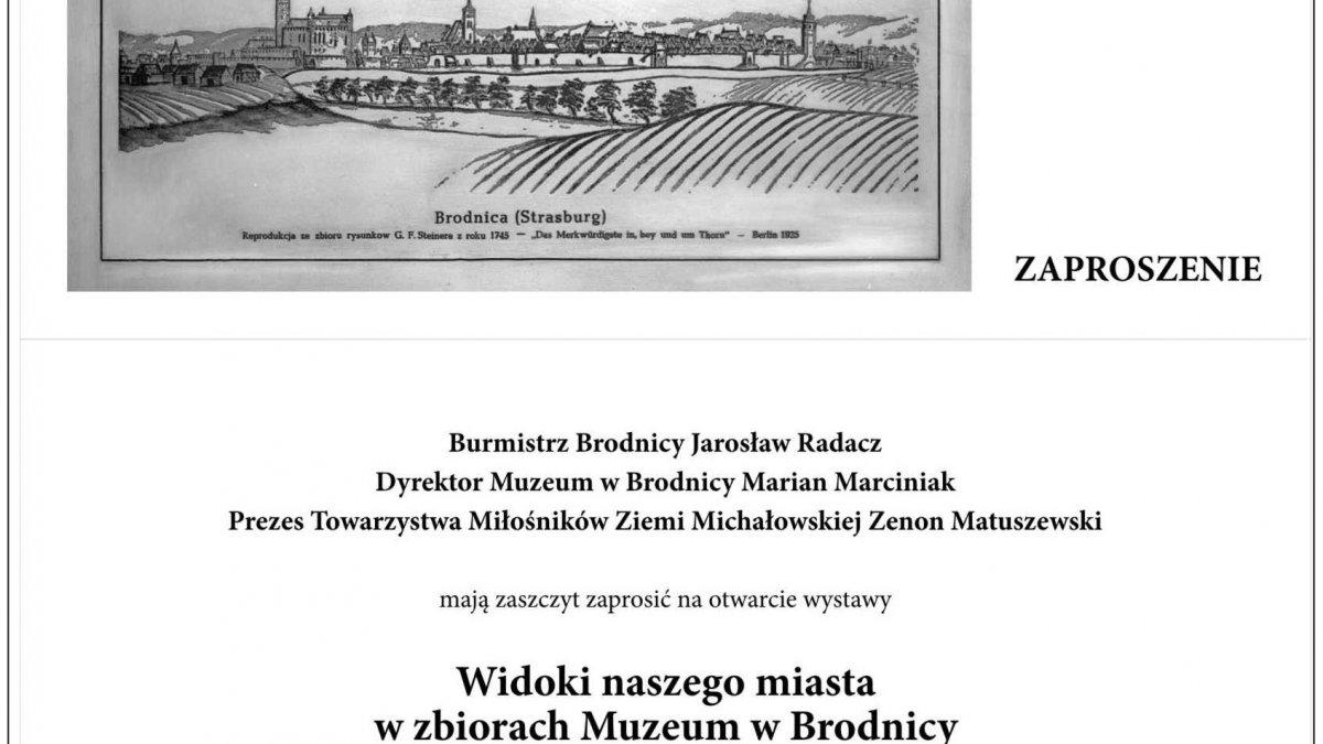 """""""WIDOKI NASZEGO MIASTA"""" – wystawa w Pałacu Anny Wazówny"""