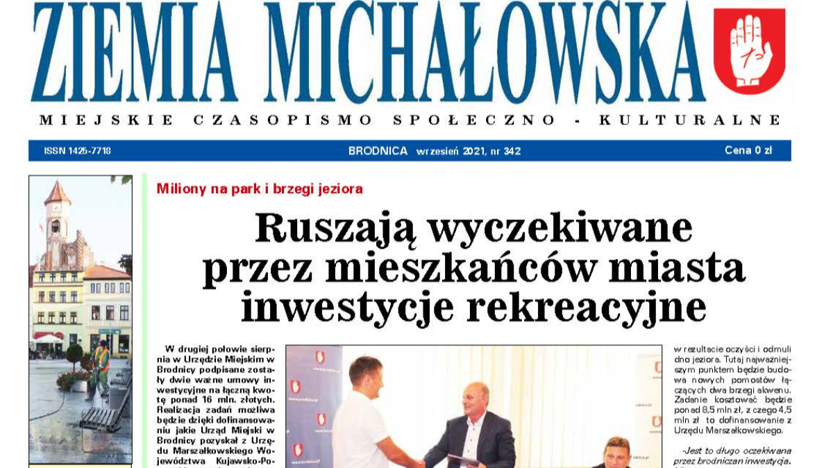 Nowe wydanie Ziemi Michałowskiej on-line