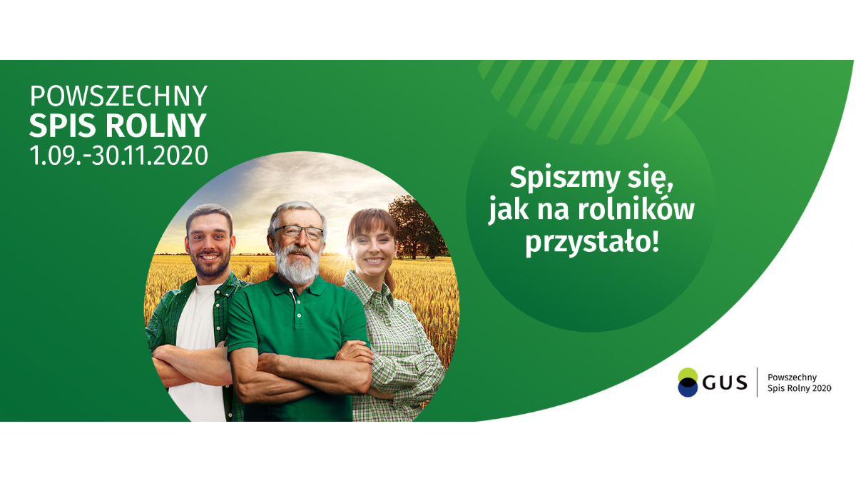 Od 1 września rusza Powszechny Spis Rolny
