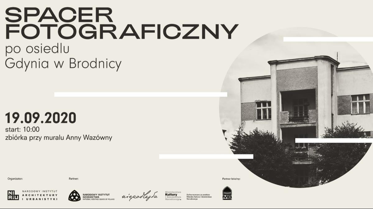 Spacer fotograficzny po osiedlu Gdynia w Brodnicy