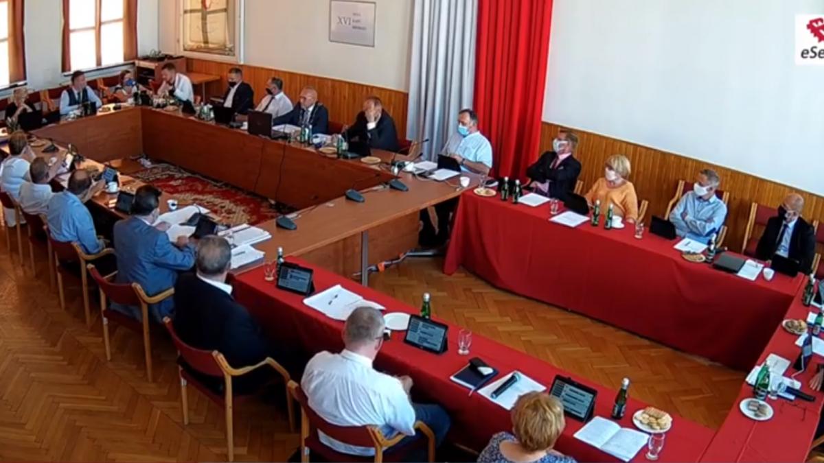 na zdjęciu radni Rady Miejskiej w Brodnicy