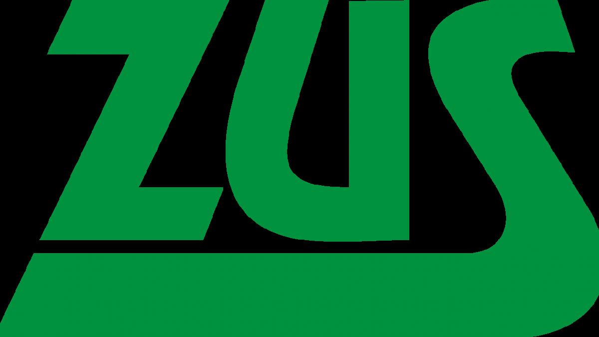 na zdjęciu logo ZUS