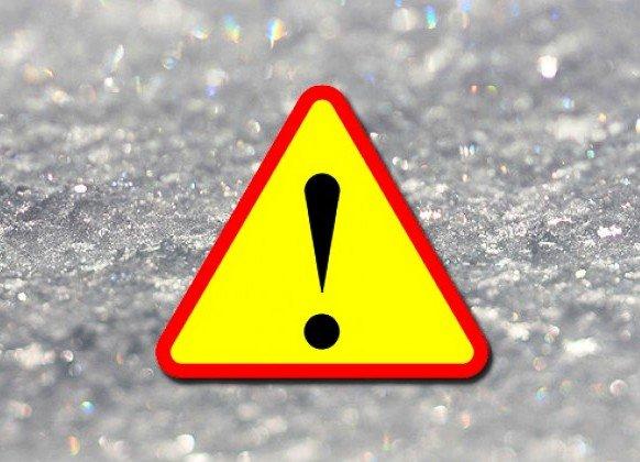 Ostrzeżenie meteorologiczne: Opady marznące