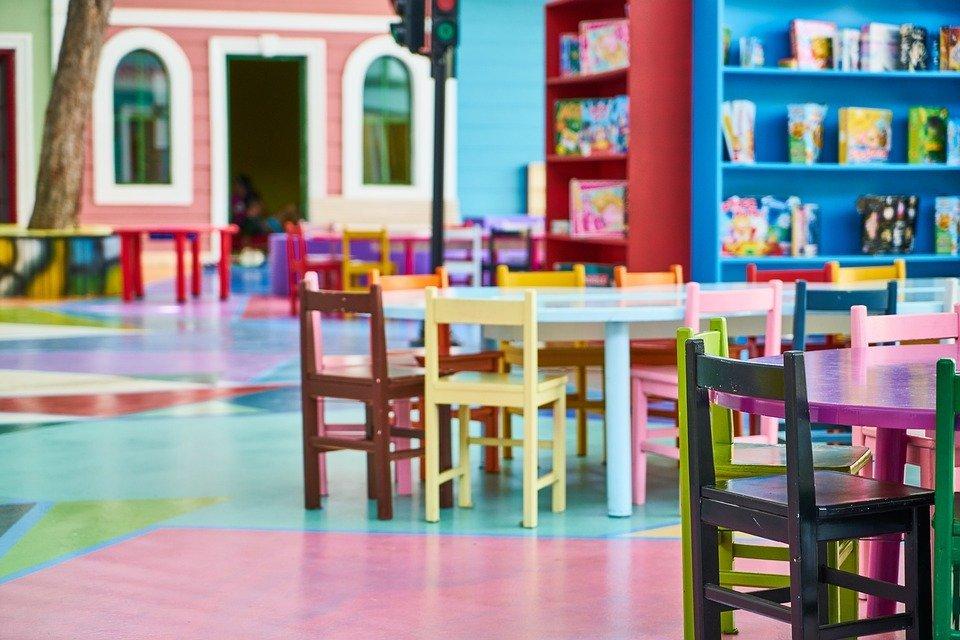 na zdjęciu: sala w przedszkolu