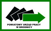 na zdjęciu: logo Powiatowego urzędu Pracy w Brodnicy