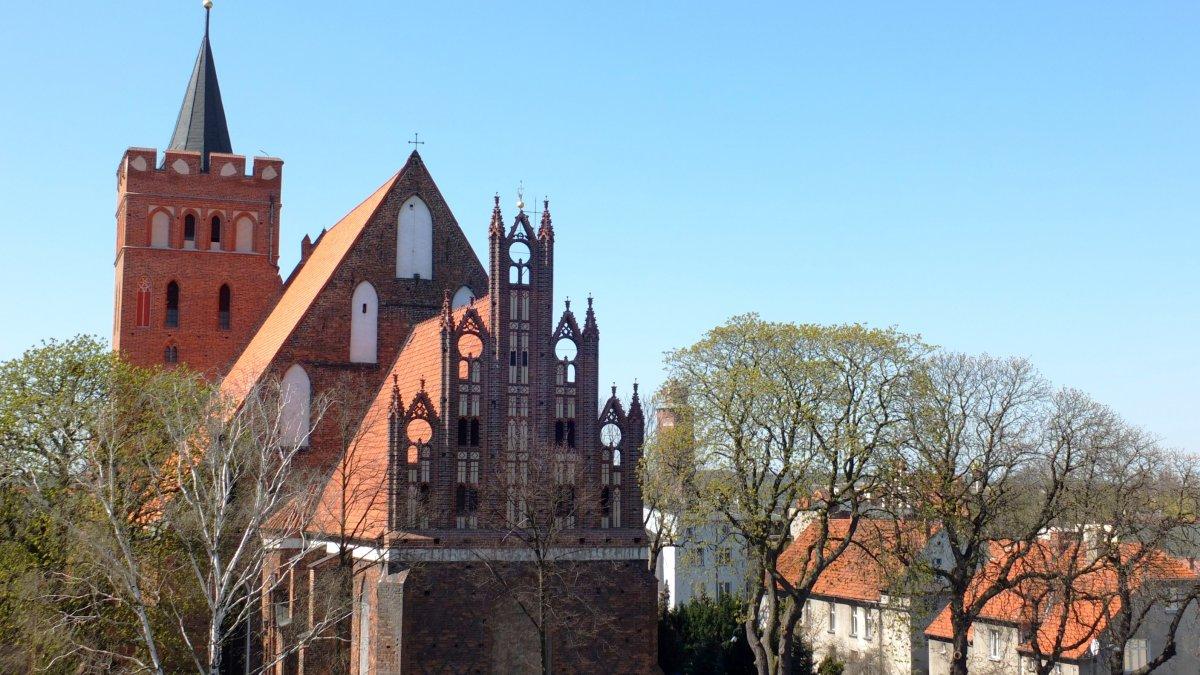 na zdjęciu: kościół farny w Brodnicy