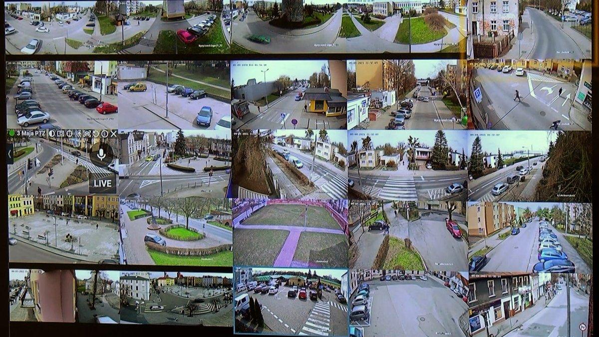 Na zdjęciu monitoring miejski.