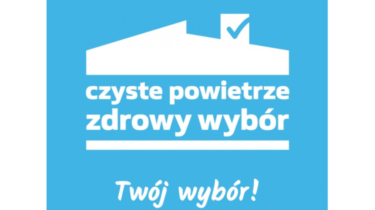 """Logo programu """"Czyste powietrze"""""""