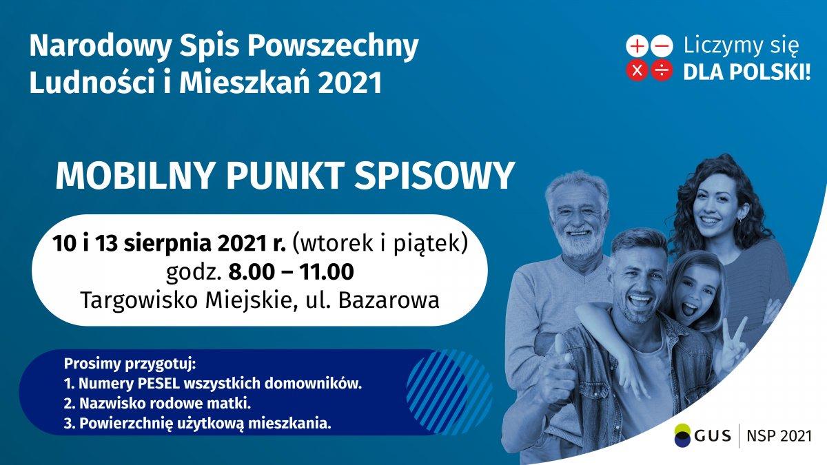 na zdjęciu: plakat informacyjny wydarzenia