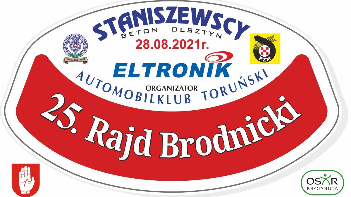 na zdjęciu: plakat 25. Rajdu Brodnickiego