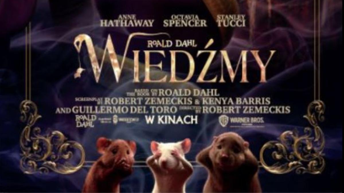 na zdjęciu plakat filmu Wiedźmy