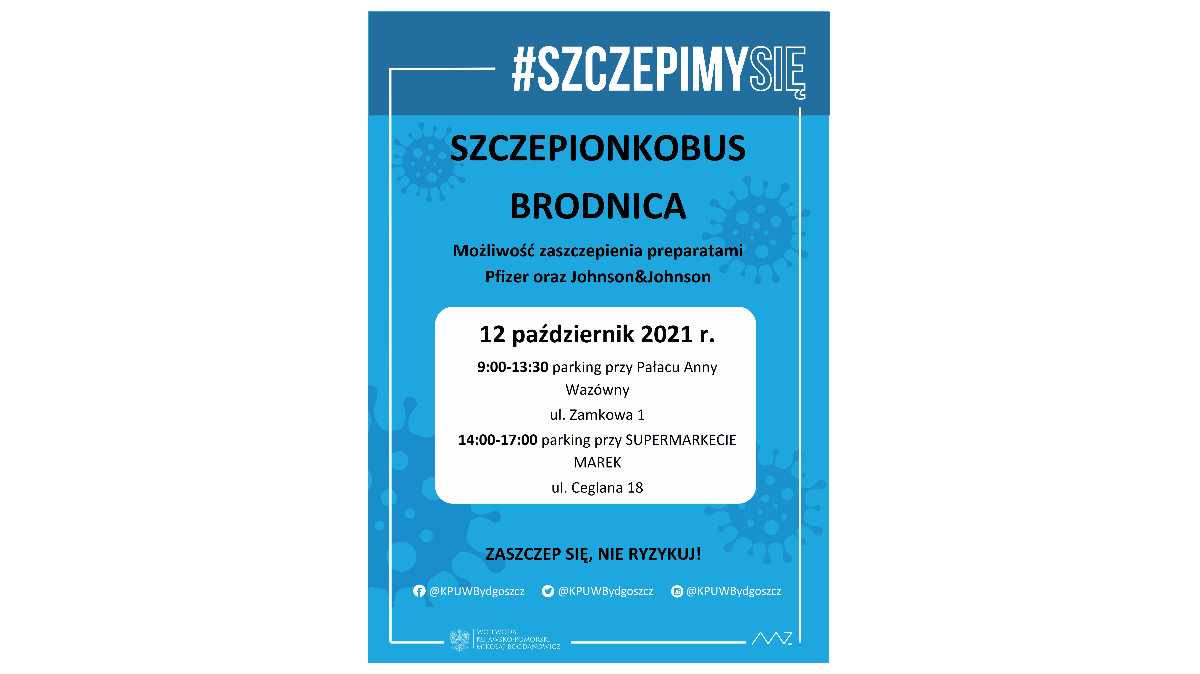 Szczepionkobus w Brodnicy
