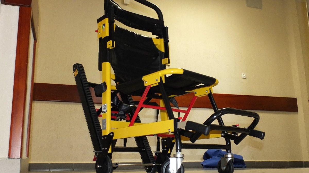 Krzesła ewakuacyjne w magistracie