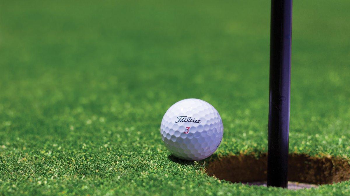 na zdjęciu: piłeczka golfowa